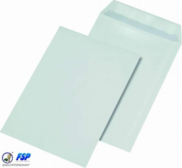Weiße DIN C4 Briefumschläge 229x324mm 120g/qm ohne Fenster sk (250 Stück)