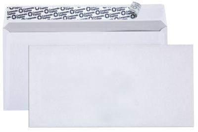Briefumschlag DL DIN Lang HK ohne Fenster weiß - 1000 Briefumschläge