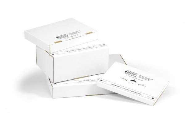 Postkartons der Packbiene® Magic Reihe