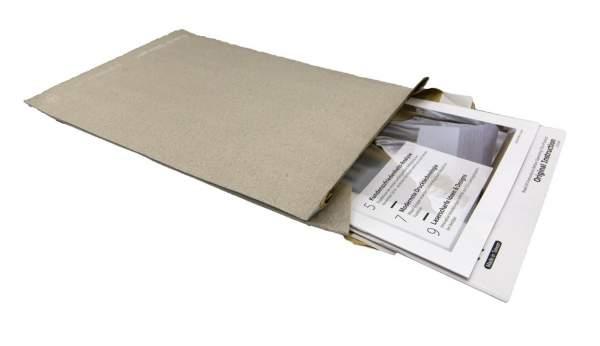 Graspapier-Polstertasche ohne Falte B4 250 x 353 mm (100 Stück)