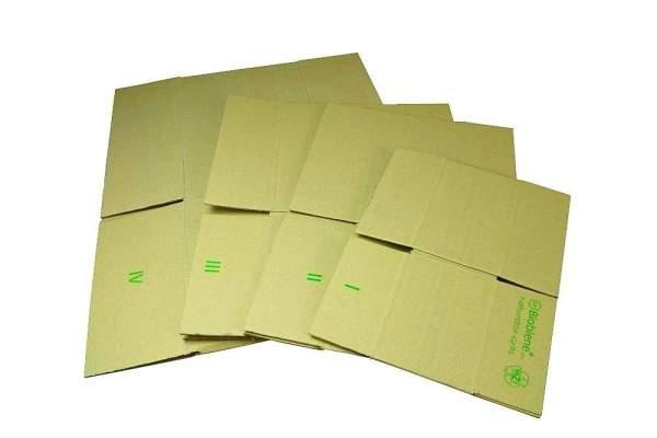 Karton aus Graspapier