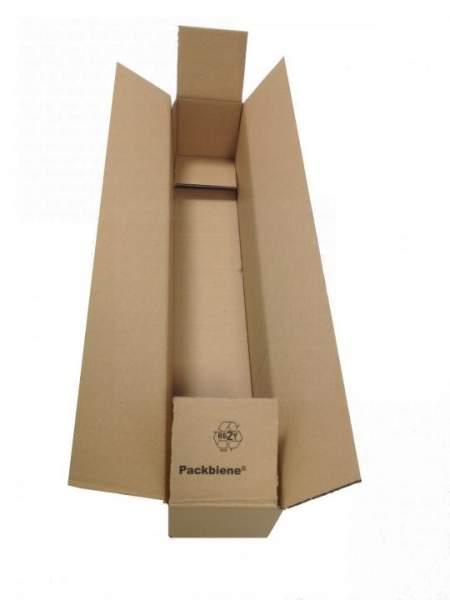 990x170x170mm Einwellige Kartons braun Wellpappe