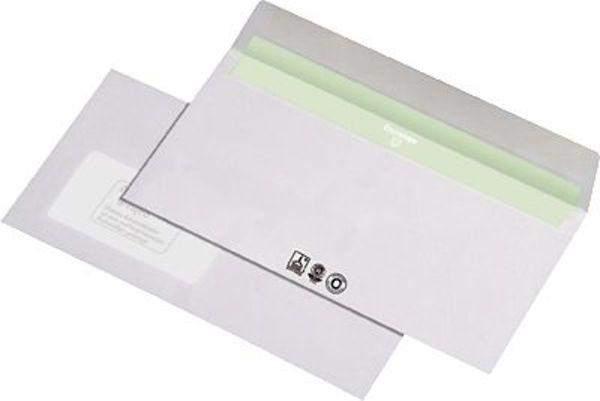 Briefumschläge DIN Lang mit Fenster 110x220mm