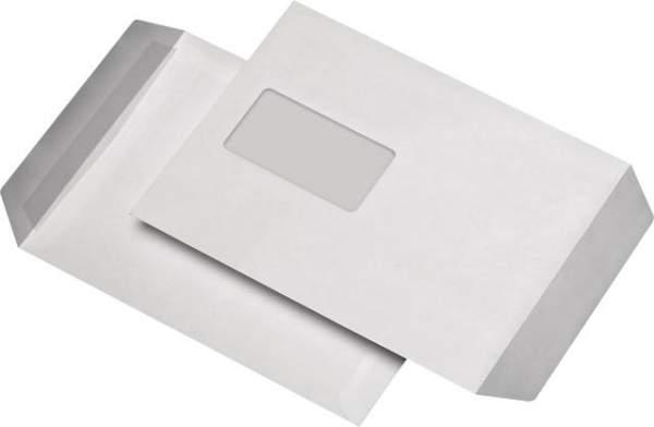 Briefumschläge C5 mit Fenster 90g/m² weiß sk / 50 Stück