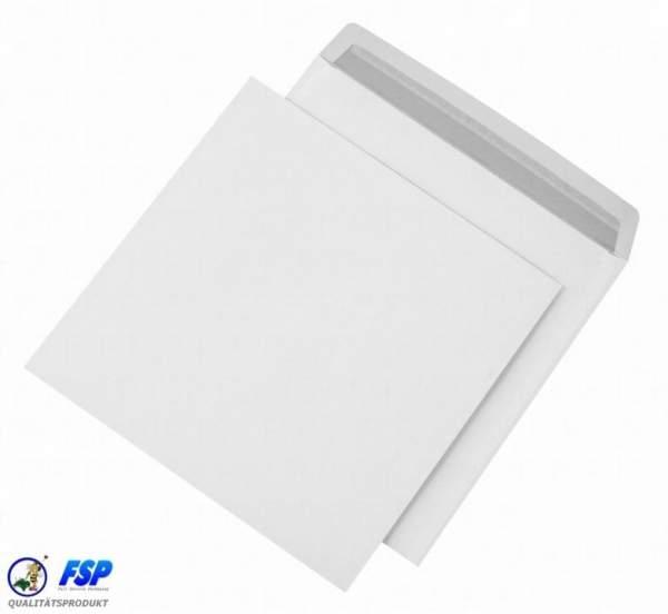Weiße quadratische 220x220mm Umschläge ohne Fenster hk (500 Stück)