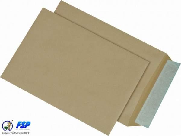 Braune DIN B5 176x250mm Versandtasche ohne Fenster hk (500 Stück)