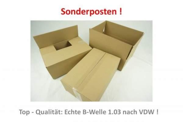 Sonderangebot für Kartonagen 31x20x13cm