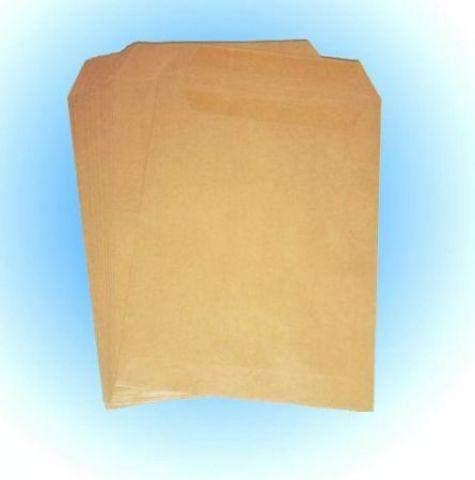 Briefumschläge C5 ohne Fenster braun 90g gummiert 50 Stück