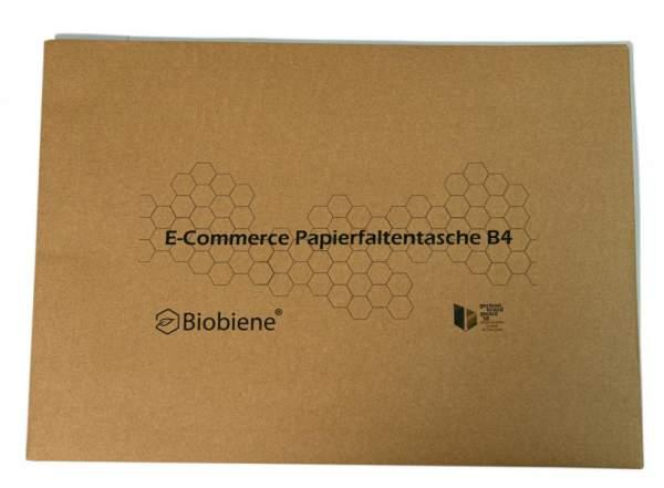 Bedruckte E-Commerce Papierfaltentasche