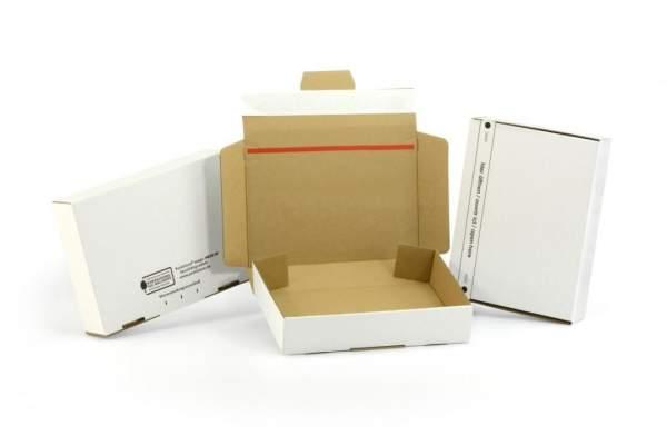 215x155x46mm Maxibriefkartons weiß