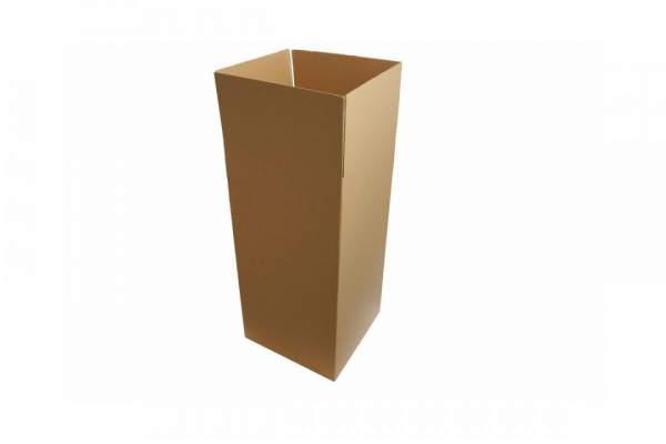 Zweiwellige braune Kartonage 485x485x970mm