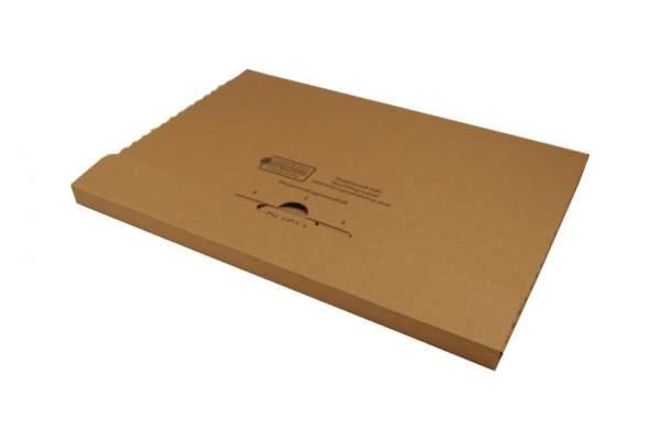 345x245x20mm Großbriefkarton braun Postverpackungen