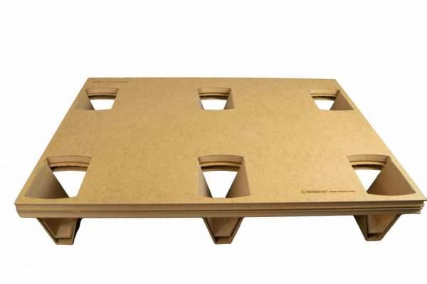 Hartfaser-Paletten 600x800 mm (1/2 Europaletten-Größe)