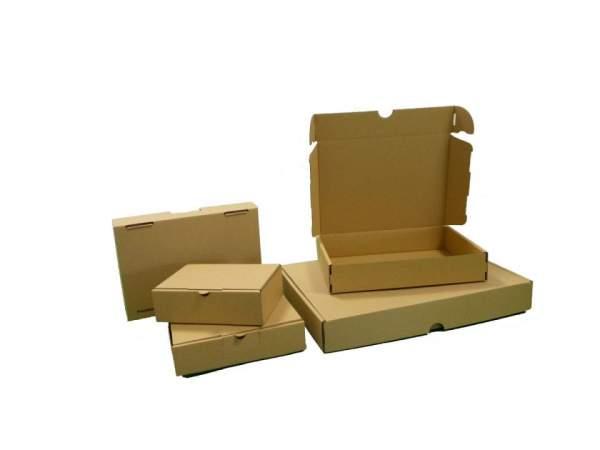 450x350x70mm Maxibriefkartons braun Postverpackungen