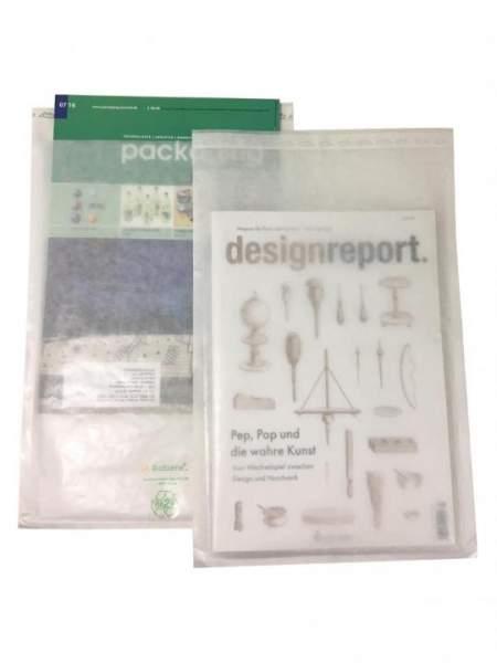 Front- und Rückseite umweltfreundliche Sicherheitshülle aus Papier