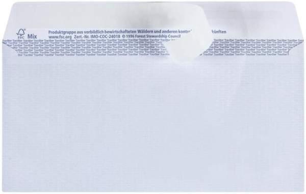 Briefumschlag DIN Lang HK hochweiß FSC ohne Fenster 250 Briefumschläge