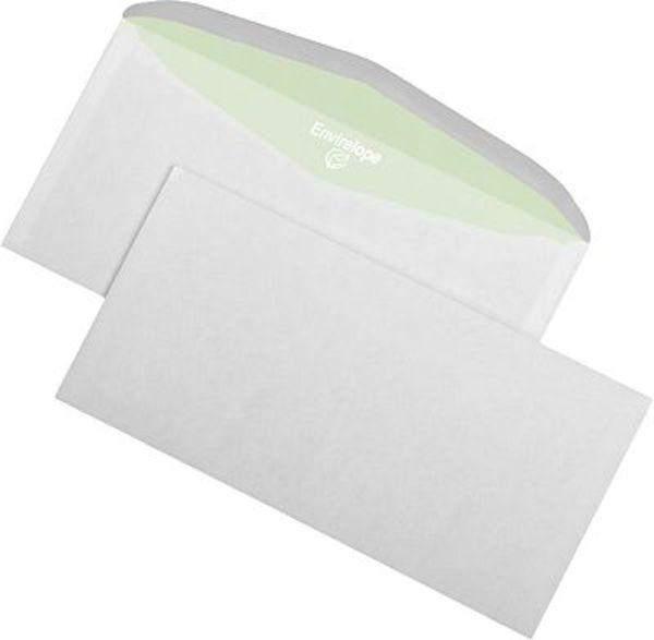 Briefumschläge 114x229mm weiß ohne Fenster