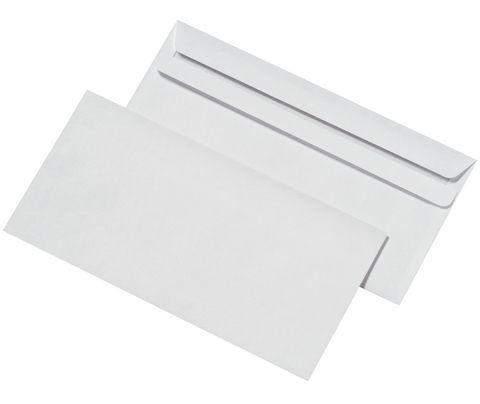 Briefumschläge DL DIN Lang ohne Fenster SK weiß (1000 Stück)
