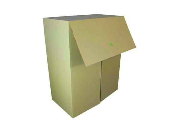 Faltkarton aus Gras 700x550x300mm