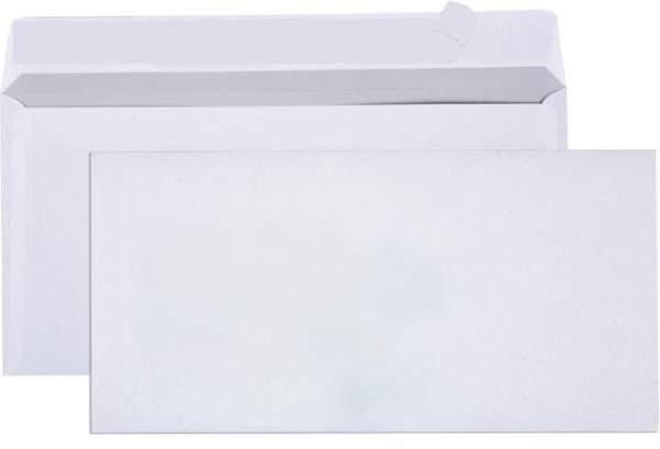 Briefumschlag DIN Lang HK ohne Fenster - 100 Briefumschläge