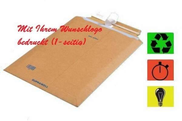 umweltfreundliche Versandtaschen mit Logo Druck