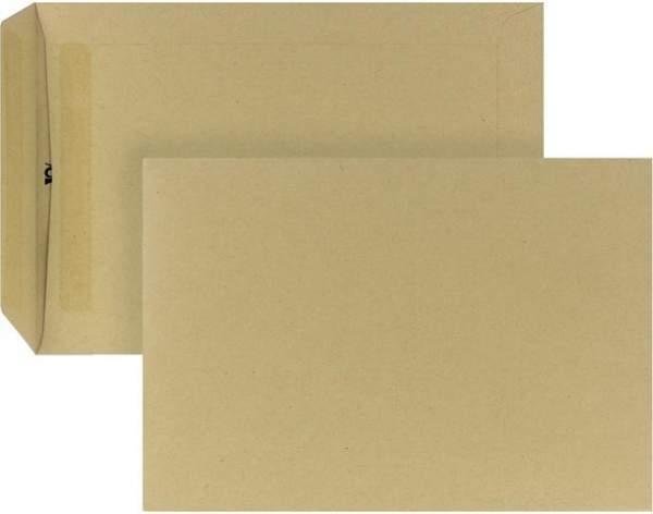 Versandtaschen Briefumschläge C5 selbstklebend BRAUN ohne Fenster (500 Stück)