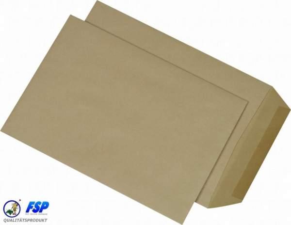 Braune DIN B5 176x250mm Versandtasche ohne Fenster nk (500 Stück)