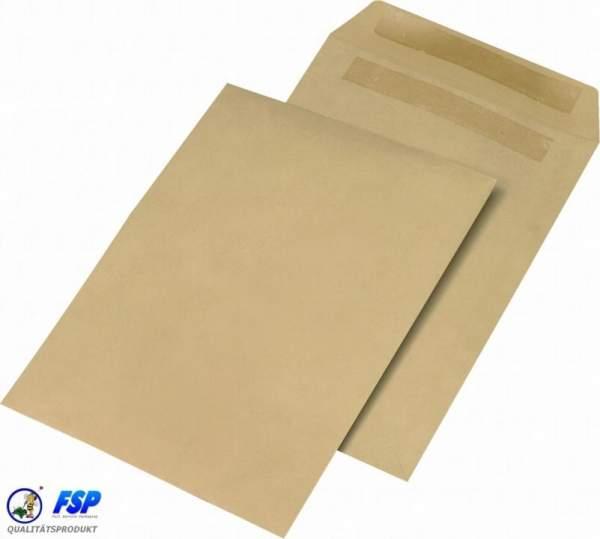 Braune DIN B4 Versandtasche ohne Fenster sk (250 Stück)