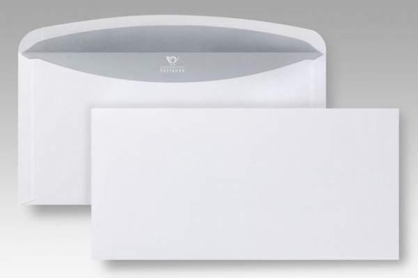 Briefumschläge Euroform I ohne Fenster gum C6/5 weiß 1000St.