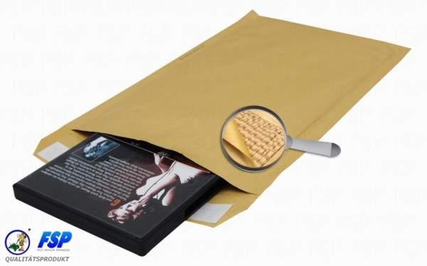 Papierpolstertaschen 295x445mm haftklebend