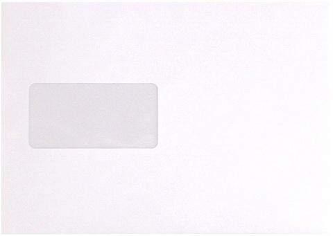 Briefumschläge C5 mit Fenster 90g/m² holzfrei weiß hk / 500 Stück