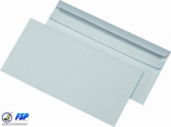 Weiße DIN C6/5 114x229mm Briefumschläge ohne Fenster sk (1000 Stück)
