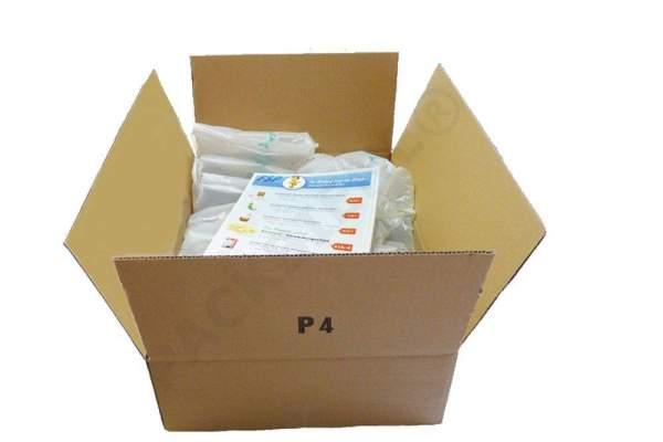 Verpackungsmaterial 450x350x145mm Einwellige Kartons