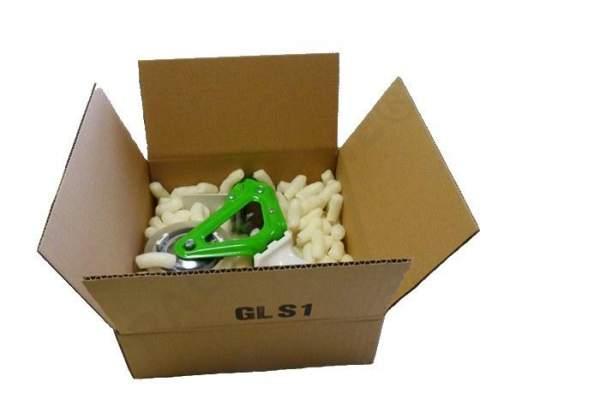 Verpackungsmaterial 250x250x100mm Einwellige Kartons GLS1