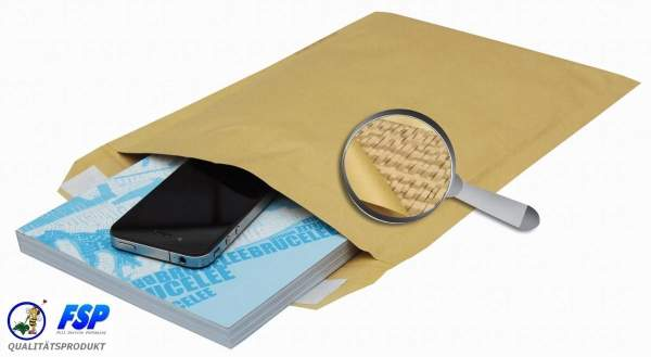 Umweltfreundliche Papierpolster Versandtaschen 175x265mm