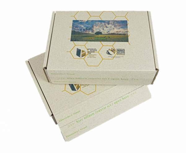 Kartons mit Ihrem Motiv: Naturebox® 318x232x90mm Graskarton E-Commerce